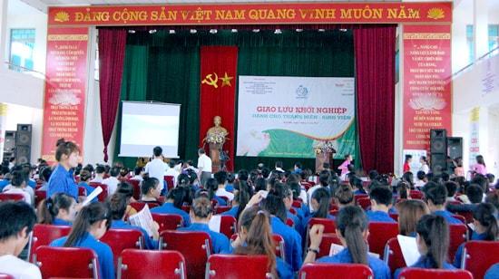 giao lưu khởi nghiệp tại Nghệ An
