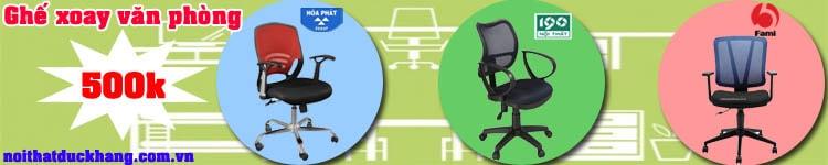 Những mẫu ghế văn phòng tại Đức Khang tốt cho sức khỏe nhân viên