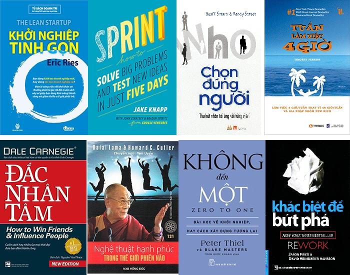 Sách hay cho giai đoạn Hình thành ý tưởng khởi nghiệp