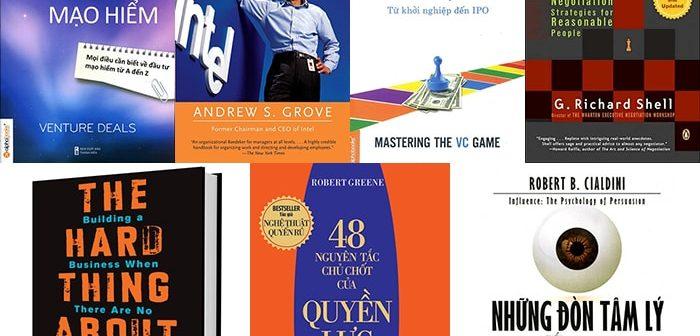 Sách hay cho giai đoạn Nhập cuộc và Tăng trưởng khởi nghiệp
