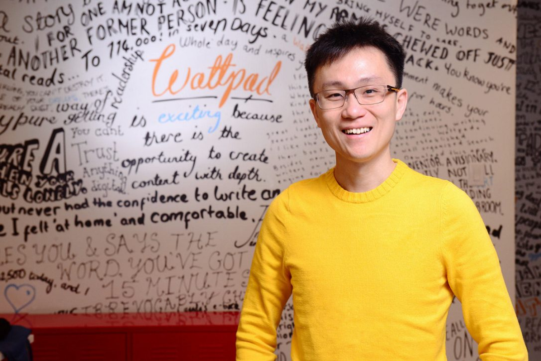 Allen Lau - CEO của wattpad