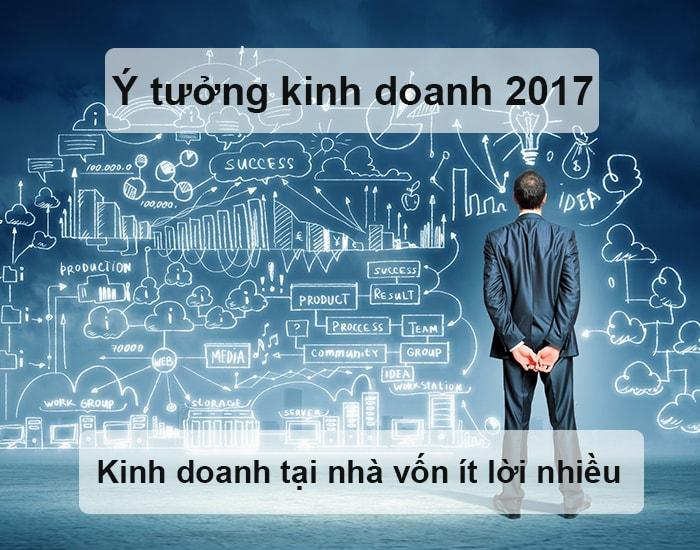 Các ý tưởng kinh doanh tại nhà vốn ít lời nhiều năm 2017