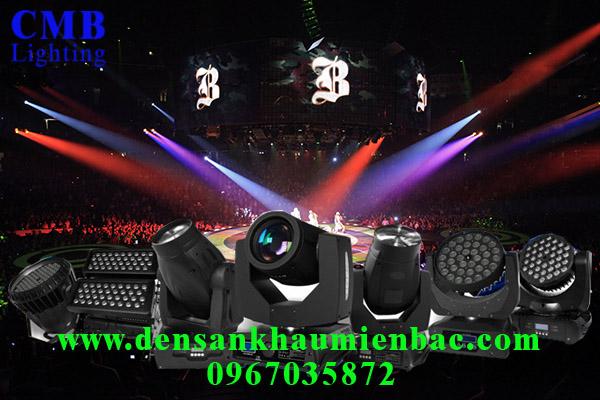 Sân khấu biểu diễn cần loại đèn sân khấu nào? 1