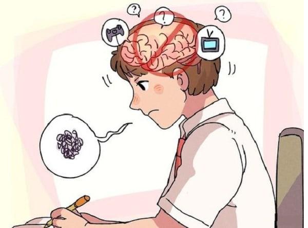 Loại bỏ những suy nghĩ không cần thiết ra khỏi đầu trong lúc đang ôn thi