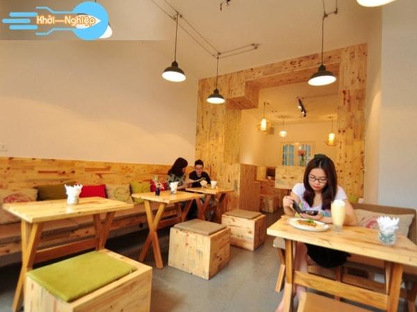 Kinh doanh quán cafe sinh viên