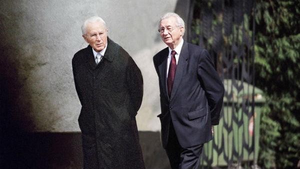 2 anh em Karl Albrecht và Theo Albrecht