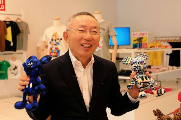Tadashi Yanai giàu nhất Nhật Bản - Tadashi Yanai