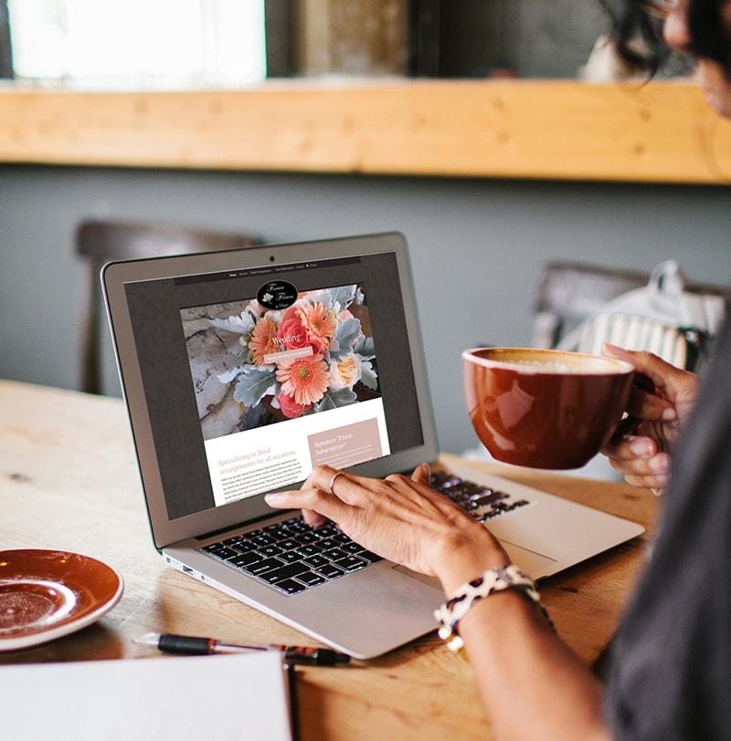 Quảng cáo website bán hoa tươi online