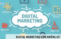 Bạn đã biết rõ Digital Marketing gồm những gì hay chưa?