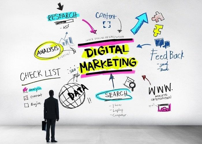 Digital Marketing chính là loại hình tiếp thị kỹ thuật số