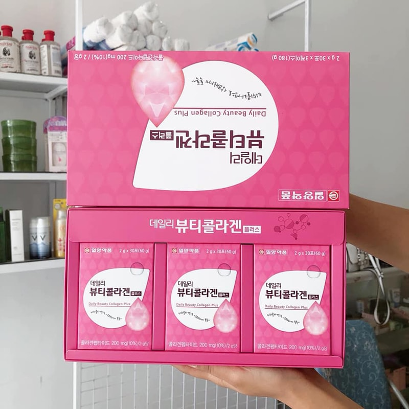 Gói Bột Uống Collagen Lemona Hàn Quốc